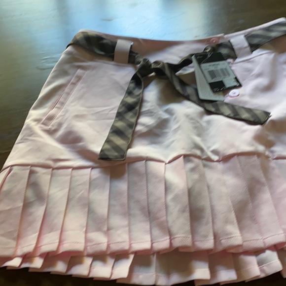 Woman's golf skirt